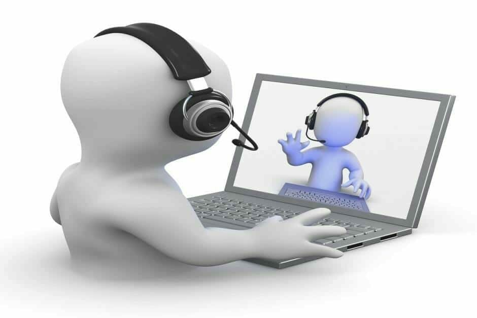 hosted voip phone systems video conference support