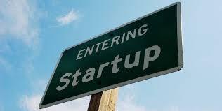 entering startup sign