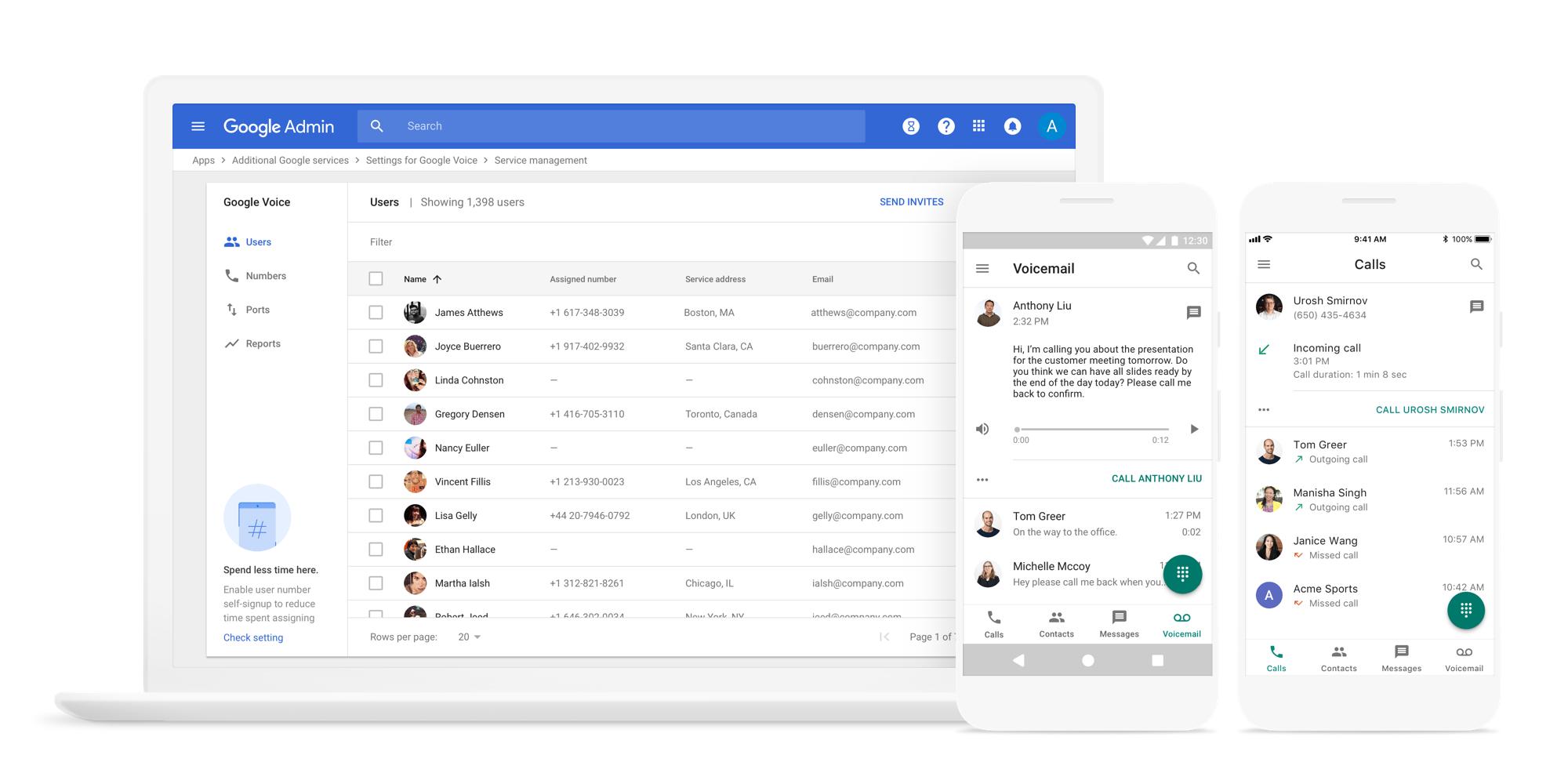 google voice images