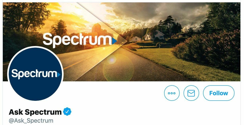 spectrum ask spectrum twitter account