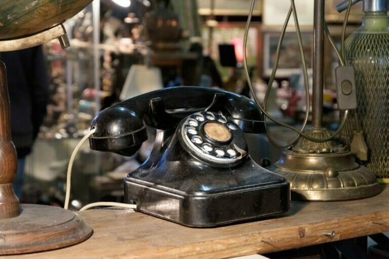 antique old phone