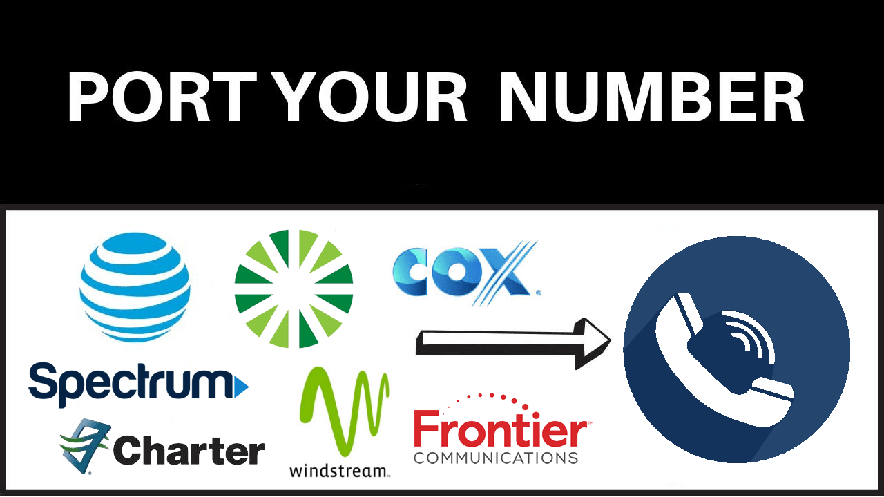 port your number