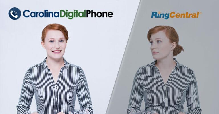 SIDE BY SIDE COMPARISON CAROLINA DIGITAL PHONE VS RINGCENTRAL