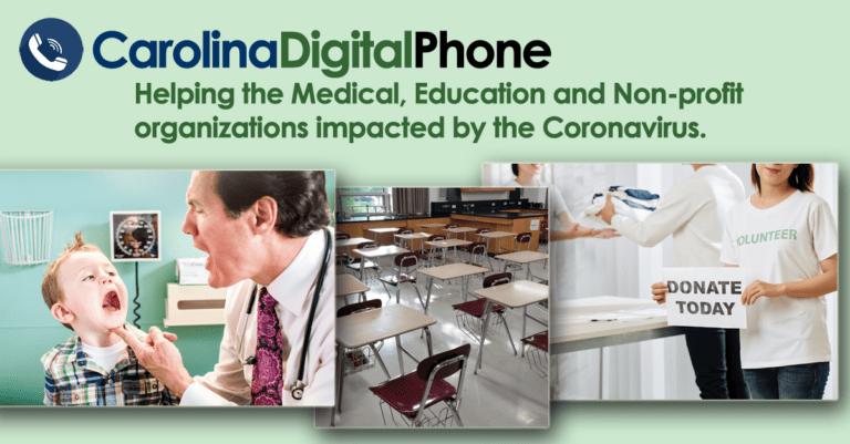 carolina digital phone helps medical education and non-profit organizations