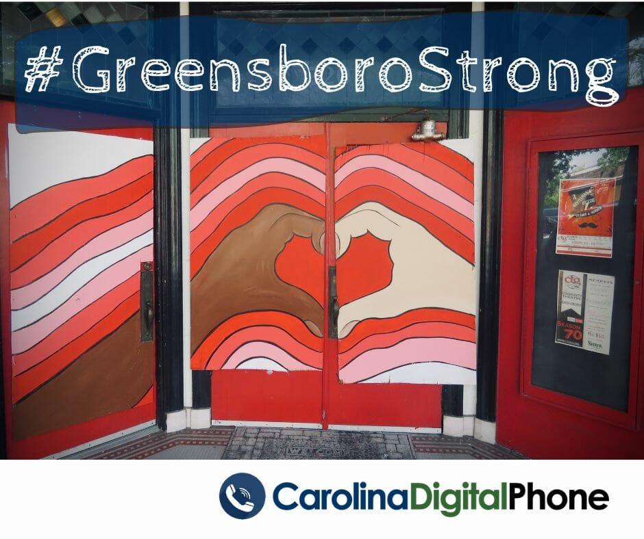 blm greensboro strong
