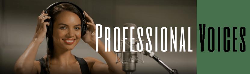 professional voices
