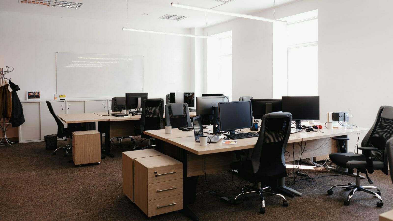 empty office - is your office phone prepared