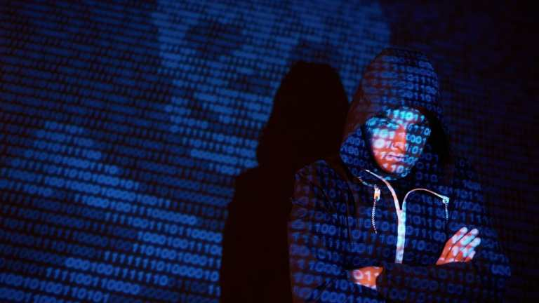 hacker using killware